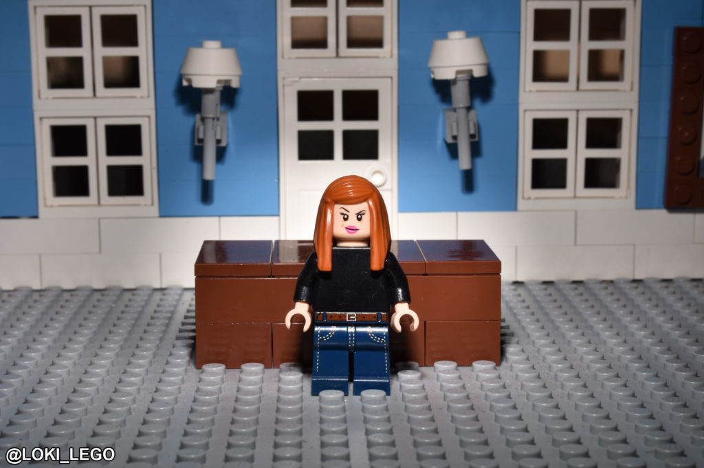 LEGO Hamlet Characters: Ophelia, as Played by Kathryn Wilder