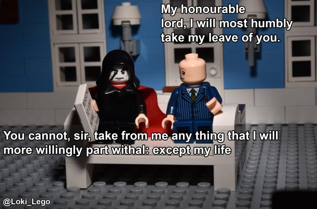 LEGO Hamlet at RADA