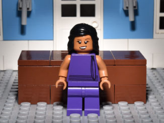 LEGO Hamlet Characters: Queen Gertrude, as Played by Lolita Chakrabarti