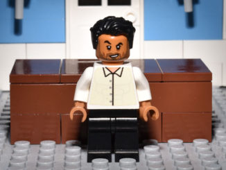 LEGO Hamlet Characters: Laertes, as Played by Irfan Shamji
