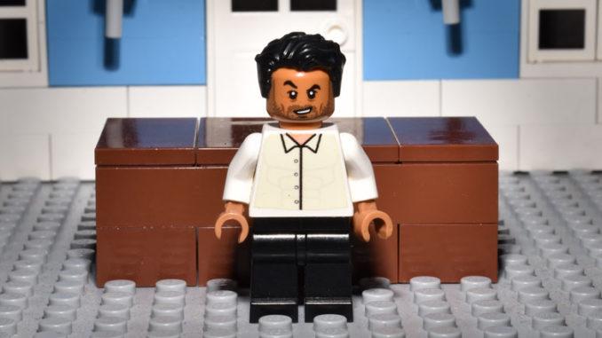 LEGO Hamlet Characters: Laertes, as Played by Irfan Shamji