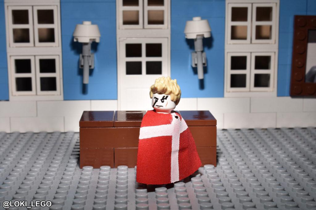Tom Hiddleston as LEGO Hamlet