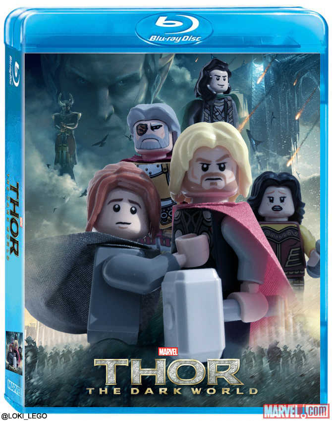 Thor: The Dark World Blu Ray Cover and Special Features ...