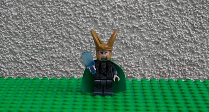 Lego Loki Ice Bucket Challenge