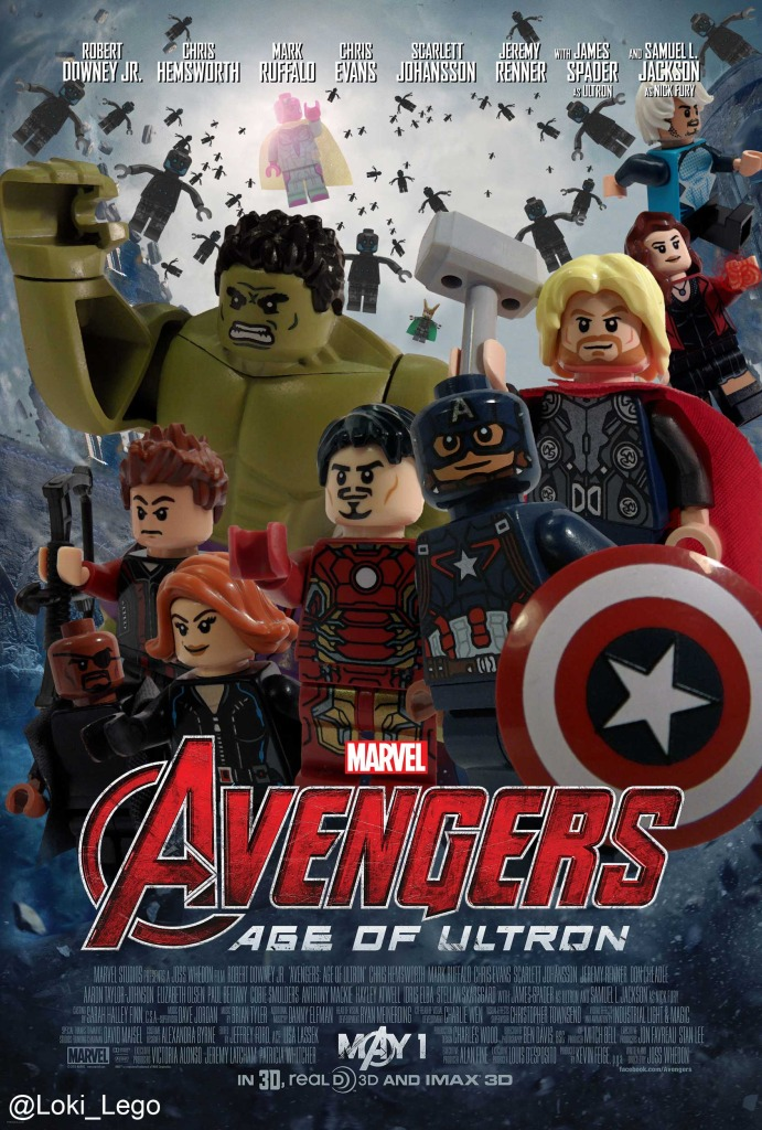 LEGO Avengers Age Of Ultron Poster