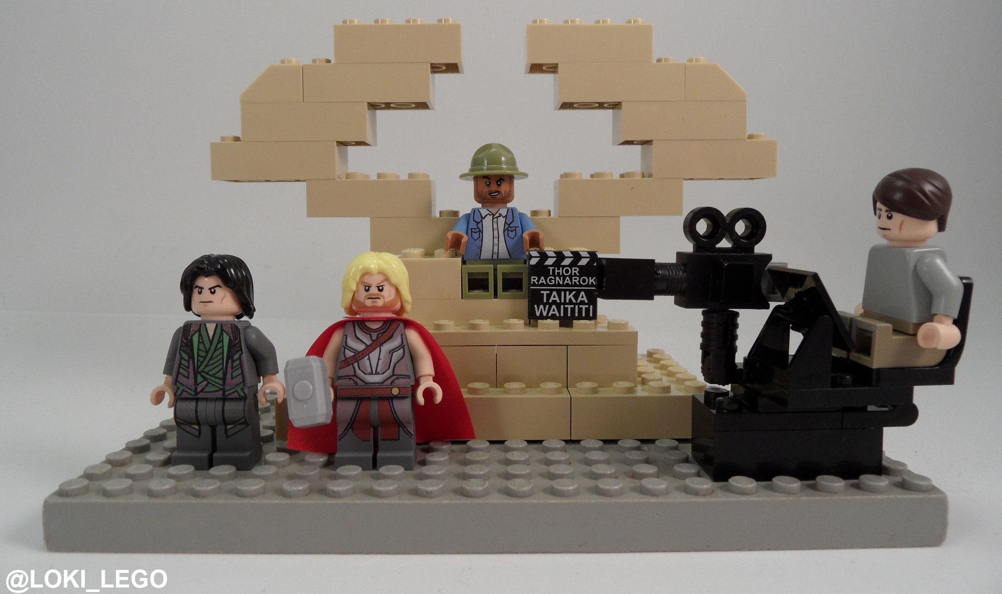 Thor: Ragnarok Lego Set
