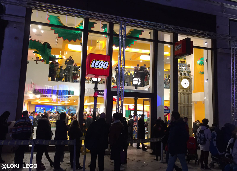 I attend the opening of lego store london in leicester square the largest le - Boutique lego londres ...