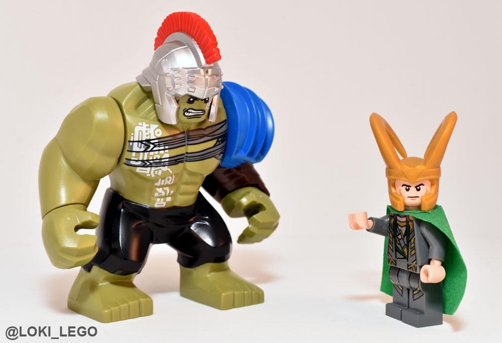Lego Loki Reviews: The Thor vs Hulk Arena Clash LEGO Set ...