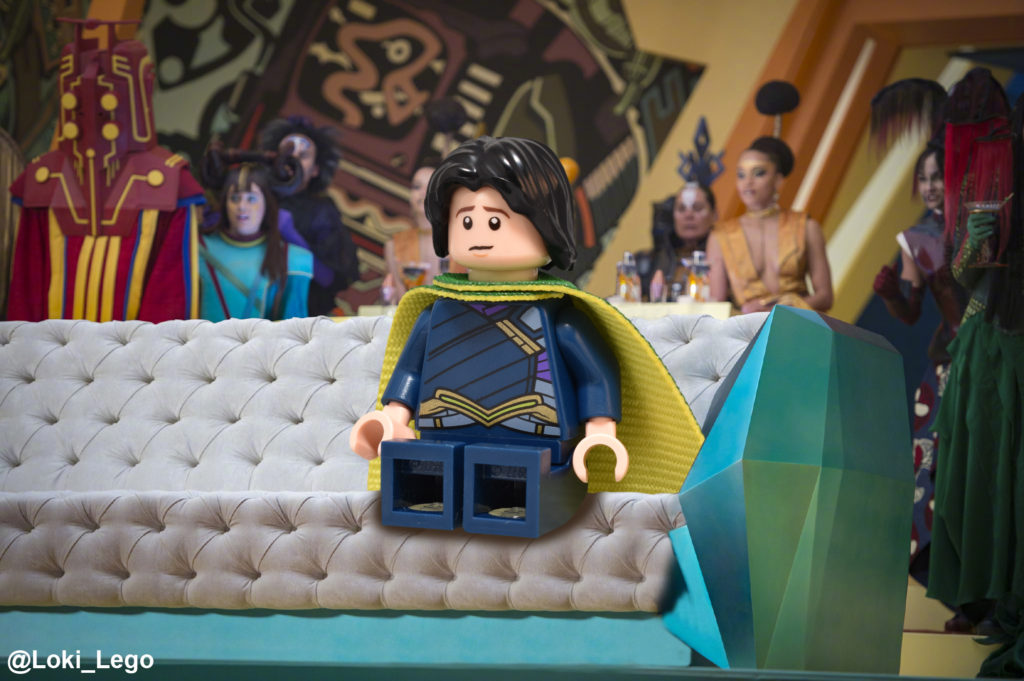 Thor: Ragnarok recreated in LEGO