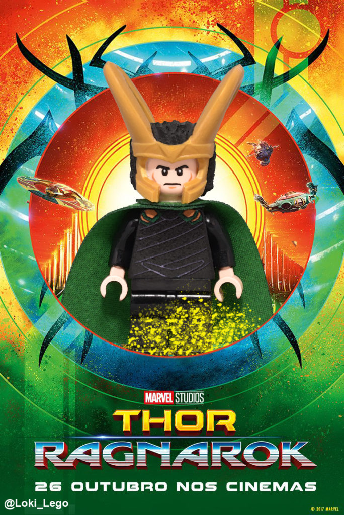 New Thor Ragnarok Character Posters