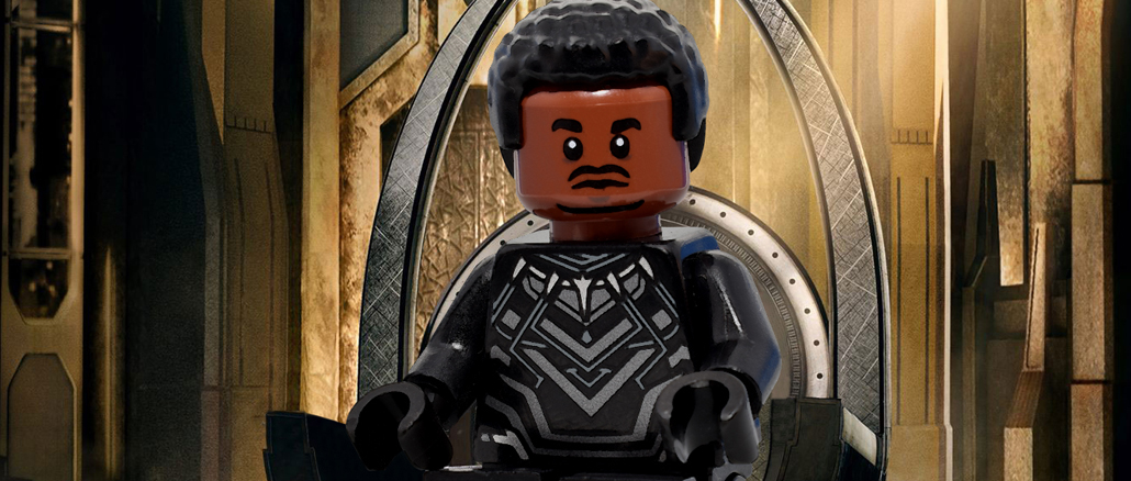 Black Panther Posters Recreated in LEGO