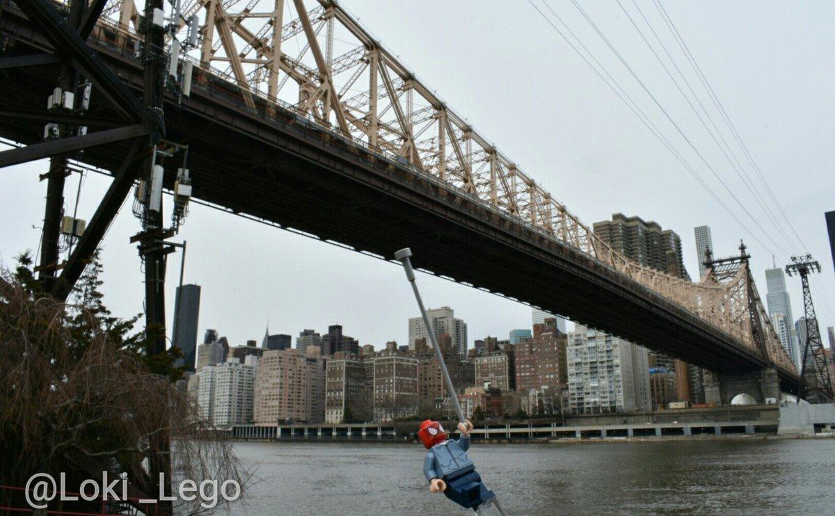 location visit spider man at the queensboro bridge in avengers