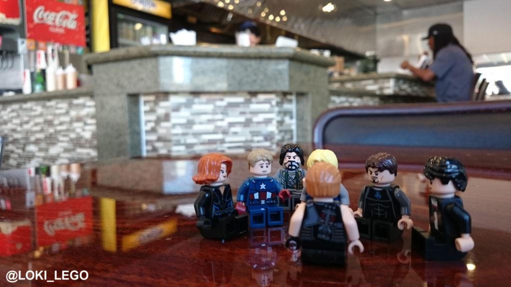 Avengers Shawarma Shop
